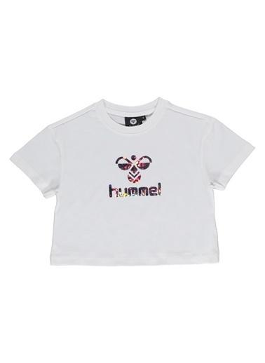 Hummel Çocuk Tişört Frida 910910-9003 Beyaz
